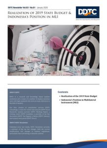 Newsletter - Realization of 2019 State Budget & Indonesia's Position in MLI