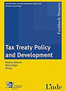 International Publication - Tax Treaty Negotiation
