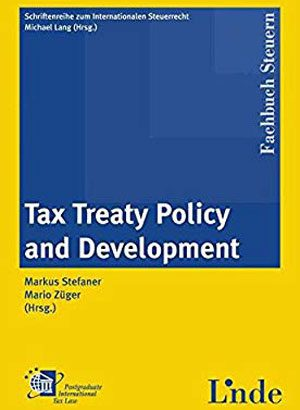 International Publication - Tax Treaty Negotiation