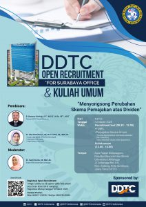 Open Recruitment DDTC - FEB Universitas Airlangga 2020