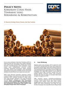 Policy Note - Kebijakan Cukai Hasil Tembakau yang Berimbang & Berkepastian