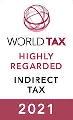 Highly Regarded International Leader - Indirect Tax