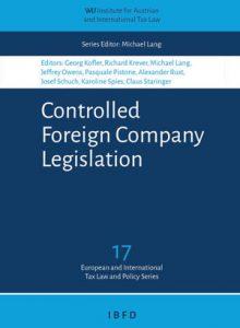 Controlled Foreign Company Legislation