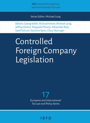 Controlled Foreign Company Legislation