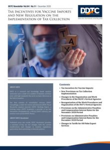Newsletter - Tax Incentives for Vaccine Imports and New Regulation on the Implementation of Tax Collection