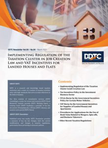 Newsletter - Implementing Regulation of the Taxation Cluster in Job Creation Law and VAT Incentives for Landed Houses and Flats