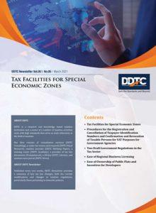 Tax Facilities for Special Economic Zones
