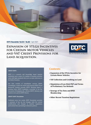 Expansion of STLGs Incentives for Certain Motor Vehicles and VAT Credit Provisions for Land Acquisition
