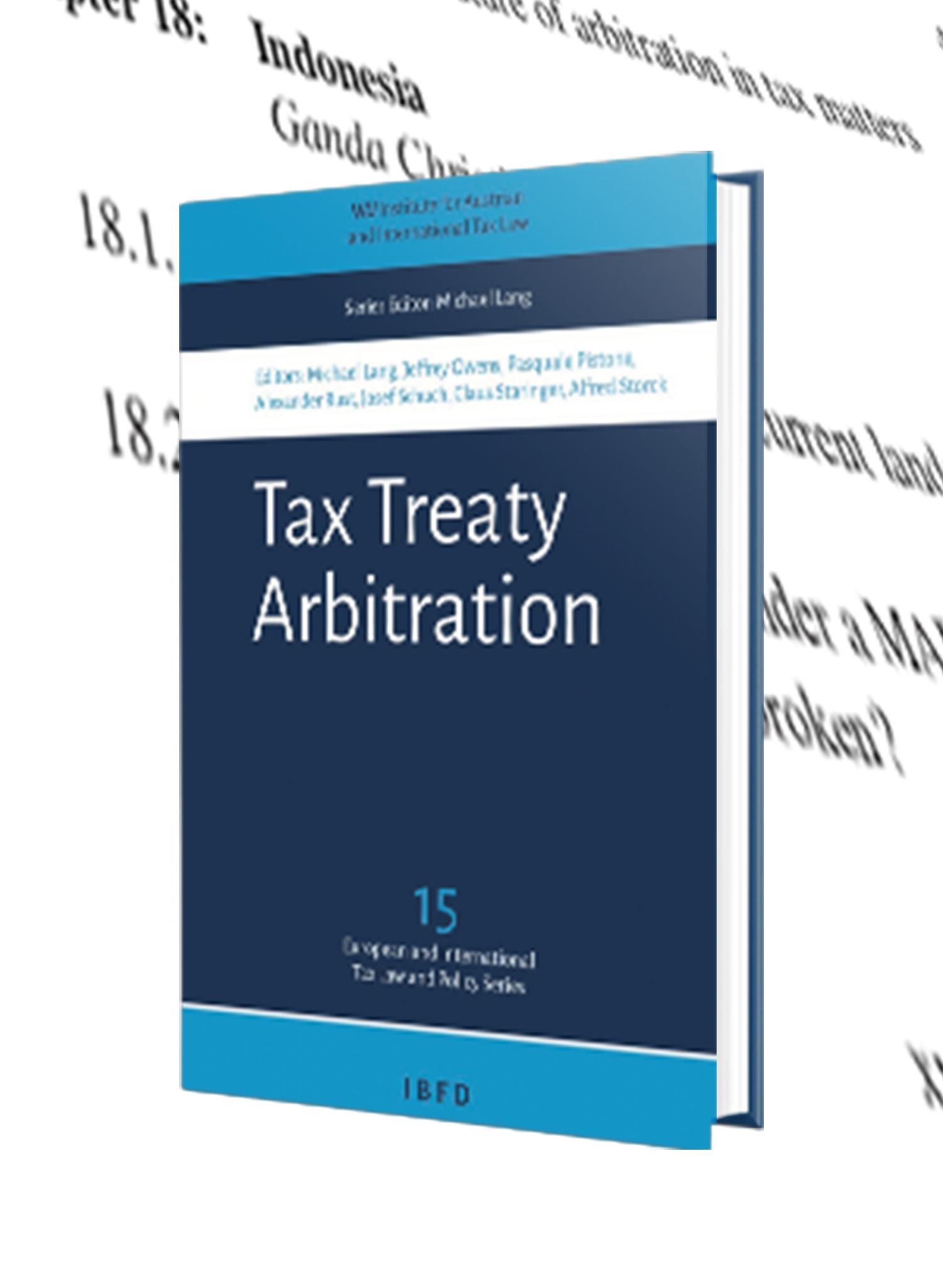 Tax Treaty Arbitration