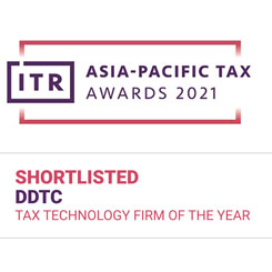 DDTC Shortlisted ITR - Tax Technology Firm of The Year